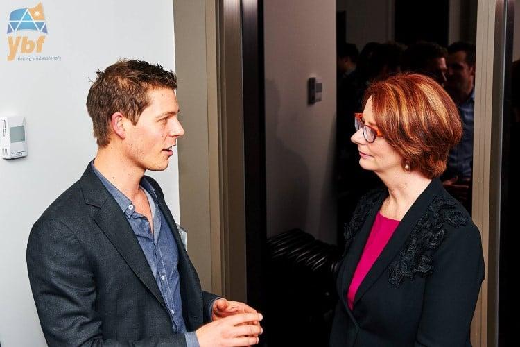The Hon. Ms. Julia Gillard Presents at Ducere Event